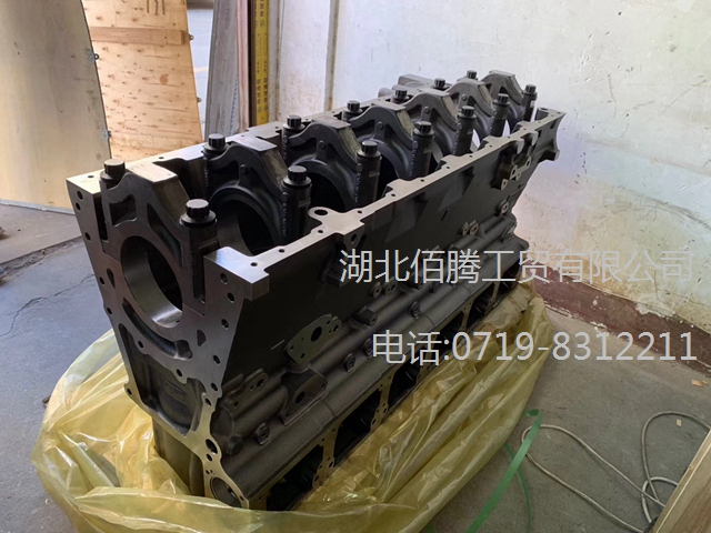 Construction Machinery 19L motor cylinder Parts K19 engine block 3088301